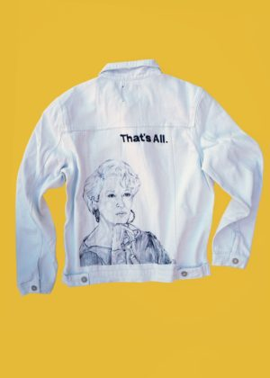 The Devil Wears Prada WHITE DENIM JACKET