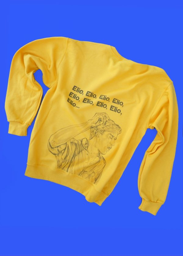 Call Me By Your Name  / Elio COLORED sweatshirt