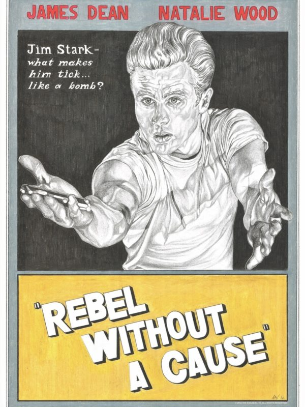 Rebel Without A Cause PRINT