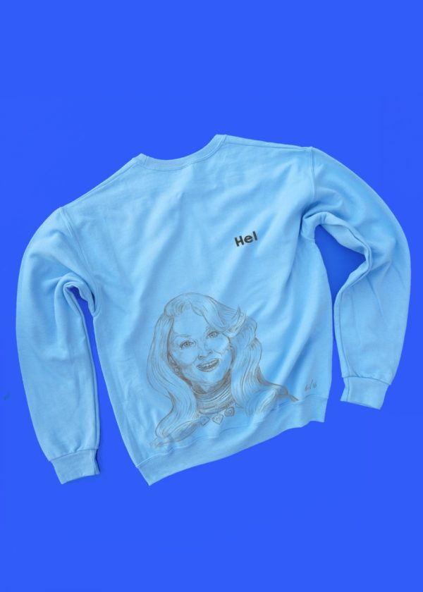 Death Becomes Her - Hel COLORED sweatshirt