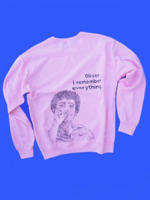Call Me By Your Name / Oliver COLORED sweatshirt