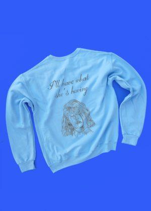 When Harry Met Sally COLORED sweatshirt