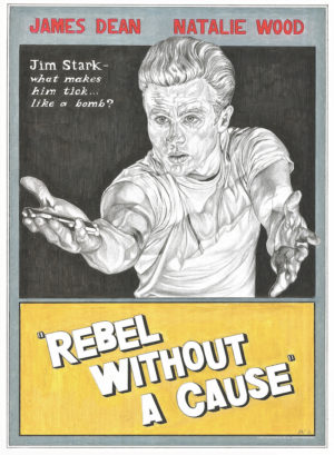 A Rebel Without A Cause movie poster