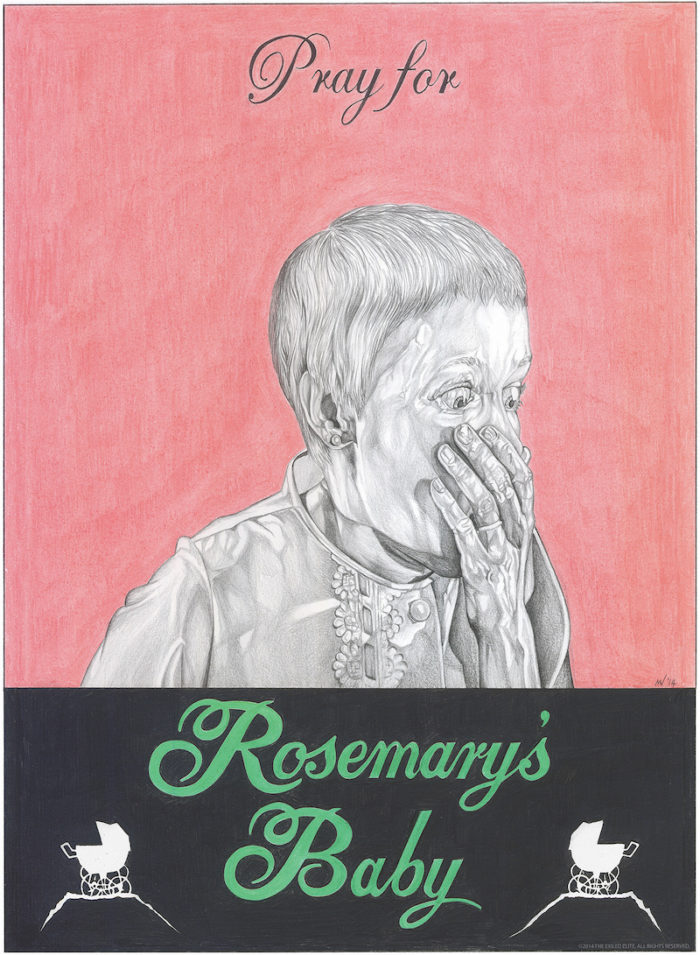 Rosemarys Baby movie poster