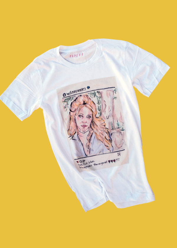 Britney Spears graphic t-shirt